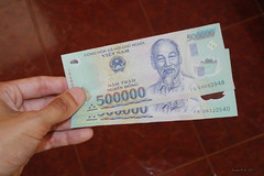 Easy to be millionnaire in Vietnam