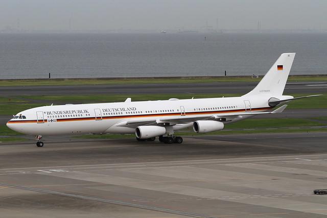 German Air Force A340-300(16+02)