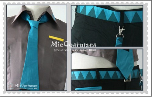 Vocaloid Hatsune Mikuo Cosplay Costume1