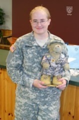 Day 225 - General Sarge and PFC Tracy Bonzo