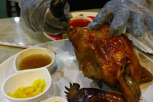 [美食.蘆竹]台灣磚窯雞~現烤甕窯雞 @VIVIYU小世界