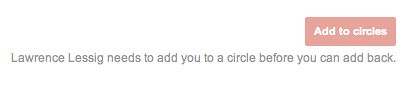 Explicit opt in on Google Plus for Pages