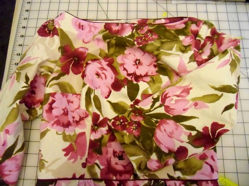 floral peony - flat