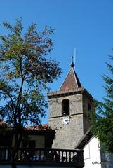 Torre de la iglesia parroquial de San Román, Ezcároz