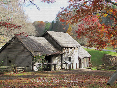 Mabry Mill ~ Backside by Child of the King / Beckie