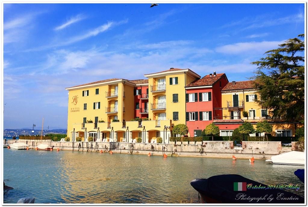 EinSTein's Blog: 2011 人生必遊之美麗國度 - 義大利 VOL 11 - 西米歐尼湖畔小鎮(加達湖)