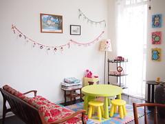 Children's play area, L'etoile Cafe, Owen Road, Little India