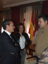 Visita del Director de Deportes de CLM