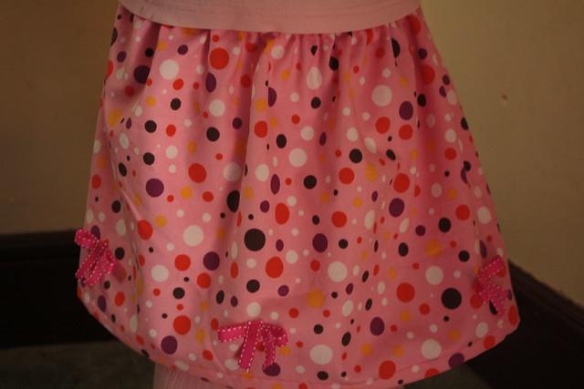 Beribboned and Bowed Skirt