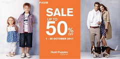 Hush Puppies apparel sale