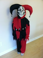 Image result for evil jester costume