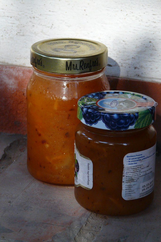 persimmon apple jam