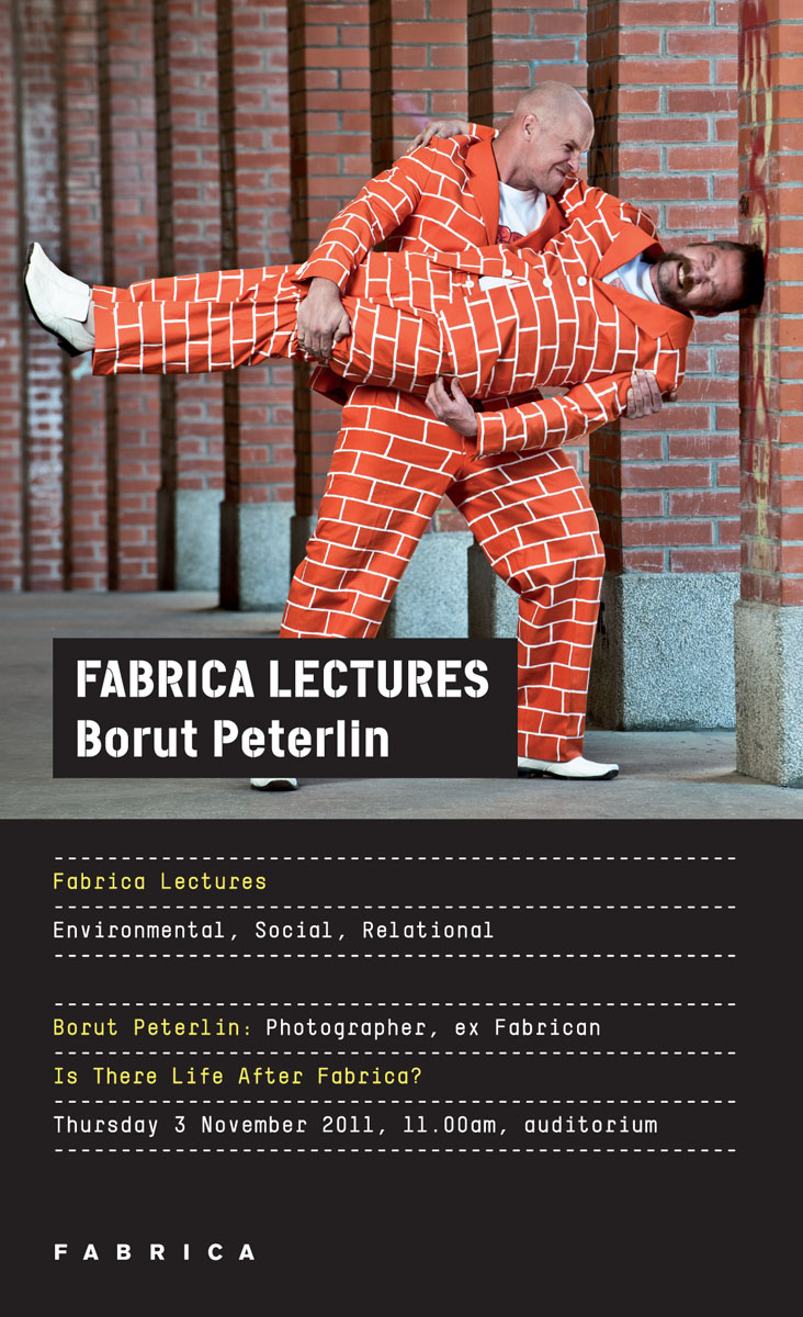 peterlin @fabrica talk poster