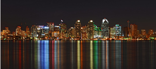 San Diego skyline. Image by Wikimedia user Ted Rufus Ross.
