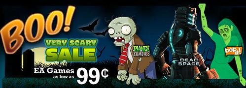 EA Mobile's Halloween Sale!