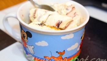 Abang Koning dapat makan ais krim