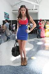 Super Mario Babe - Anime Expo