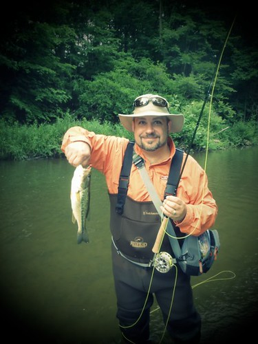 Largemouth on the Fly