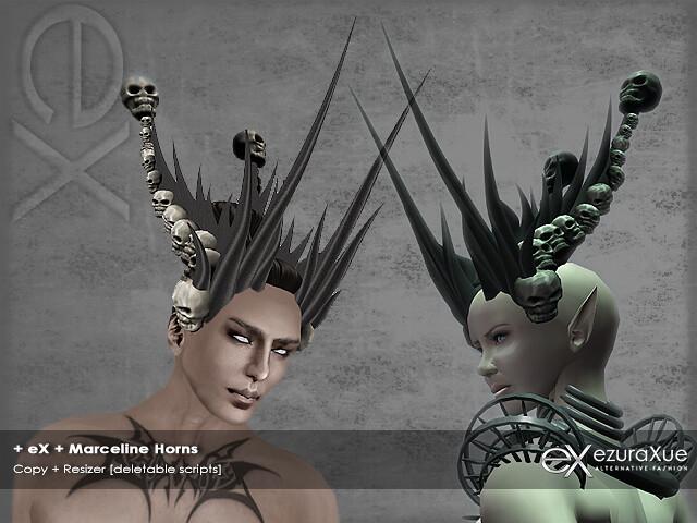 + eX + Marceline Horns
