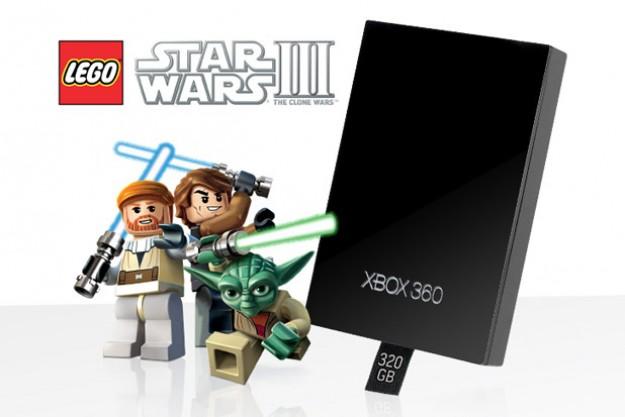 XBox 360 Hard Drive with LEGO Star Wars III