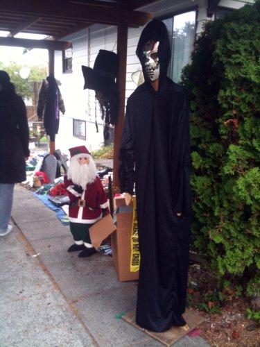 Santa and Reaper