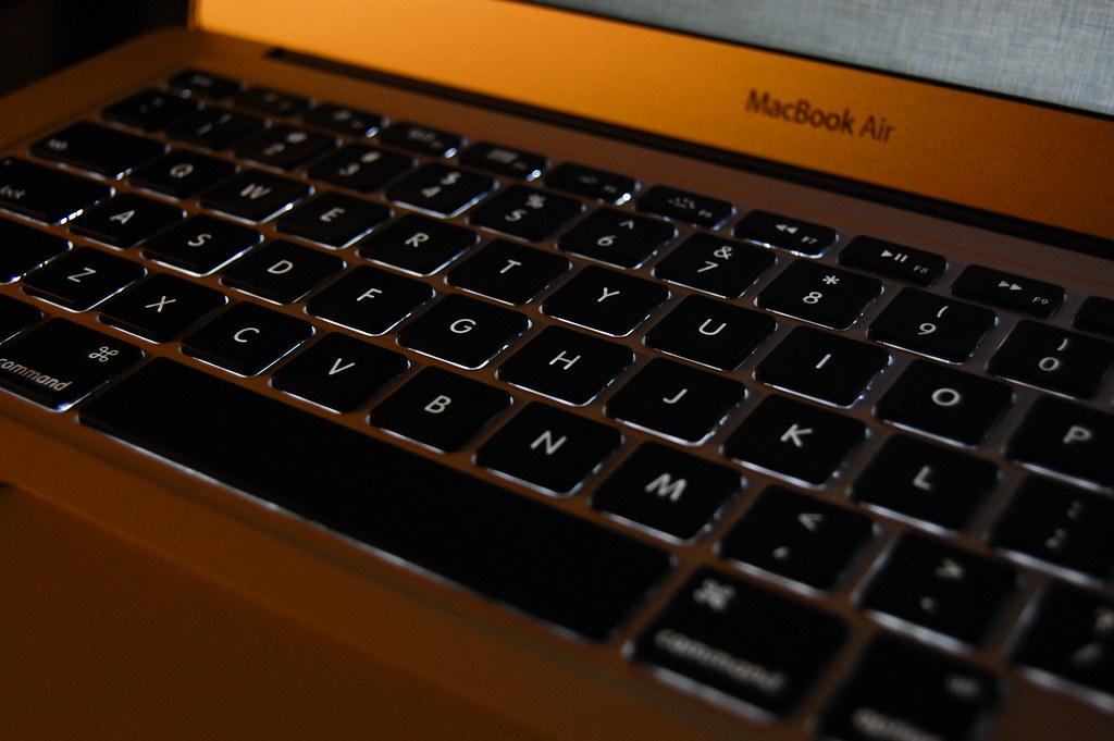 背光鍵盤。