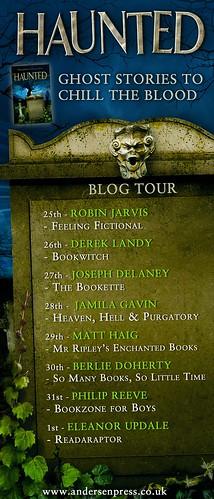 Haunted blog tour