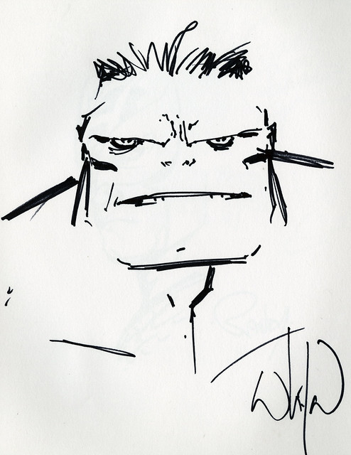 Hulk by Whilce Portacio