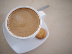 Flat White, L'etoile Cafe, Owen Road, Little India