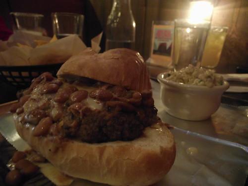 el burger @ the orginal el taco