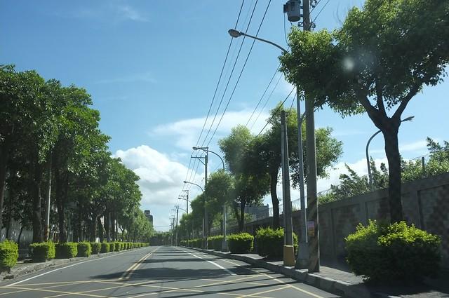 米雷颱風前夕﹣大湳
