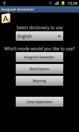 Anagram Generator screenshot