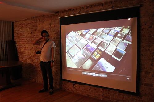 Derrick Taruc introducing Underground in Suburbia: Bridgetown Records