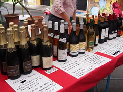 Burgundy and Bordeaux Wines, Loewen Farmers' Market, Dempsey