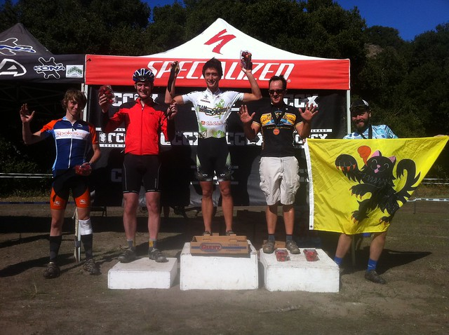 CCCX #5 B podium: Snuck in!