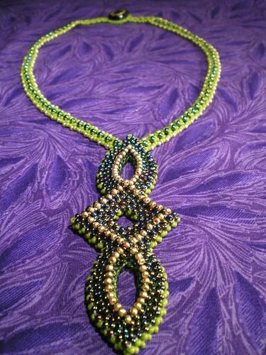 Ellipse Tudor Style Necklace