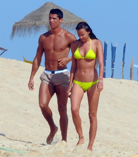 Cristiano Ronaldo dan Irina Shayk