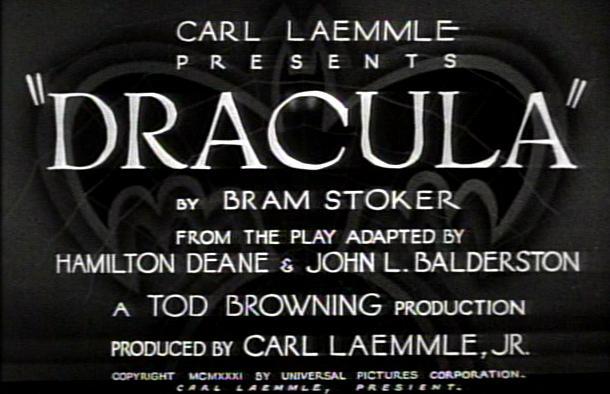 Dracula title
