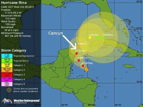 Hurricane Rina