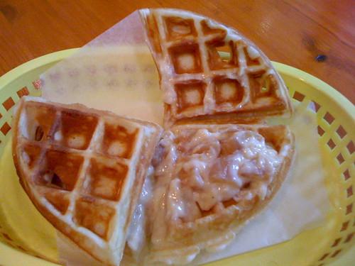 Fruits & Cream Waffle Sando
