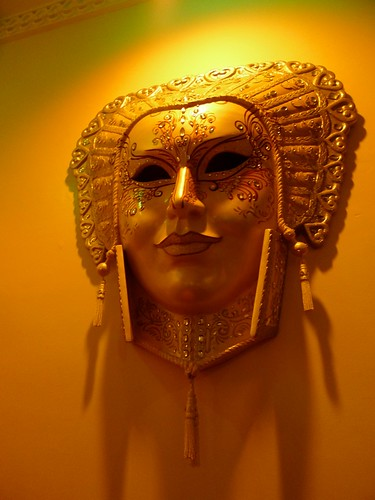 Venetian mask @ Dolce Vita Manila