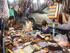 Talad Rod Fai (Train Market), Bangkok