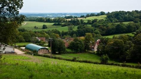 France, rural landscape