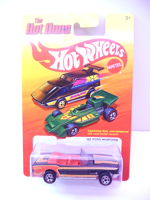 hot wheels hot ones '65 ford mustang (1)
