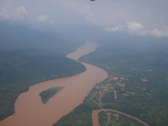 Aerial View of the Mekong