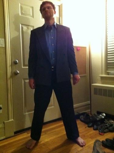 The $33 Suit.