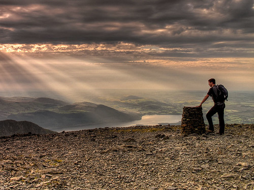 On Skiddaw Summit