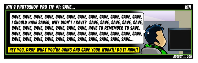 Kin's Photoshop Pro Tip #1: Save...