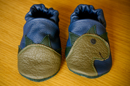 Dinosaur shoes!