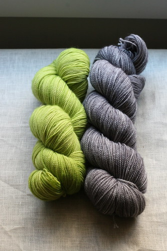 Green + Grey + Yellow